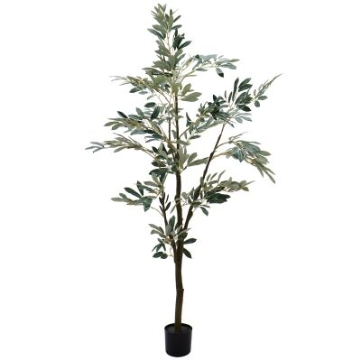 Potted Artificial Olive Tree, 150cm-I