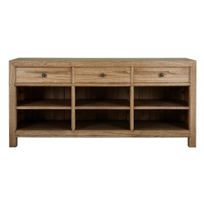 Macaire Mindy Wood 3 Drawer Buffet Table, 183cm