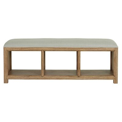 Macaire Mindy Wood & Fabric Bed End Bench, 140cm