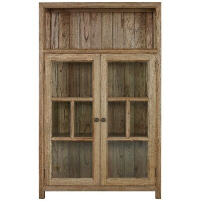 Macaire Mindy Wood Display Cabinet