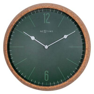 NeXtime Cork Wall Clock, 30cm