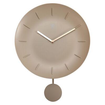 NeXtime Bowl Wall Clock, 30cm, Off White