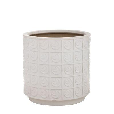 Carina Ceramic Planter, Small