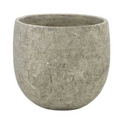 Webster Ceramic Tub Pot, Grey