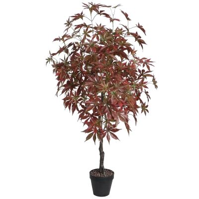 Potted Artificial Japanese Maple Tree, 120cm