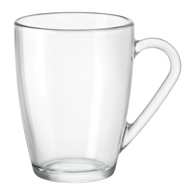 Icon Glass Mug, Clear