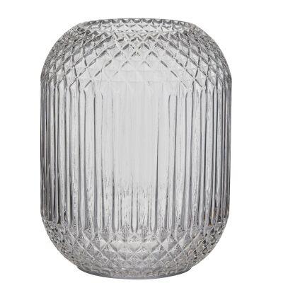 Valentina Glass Vase, Clear