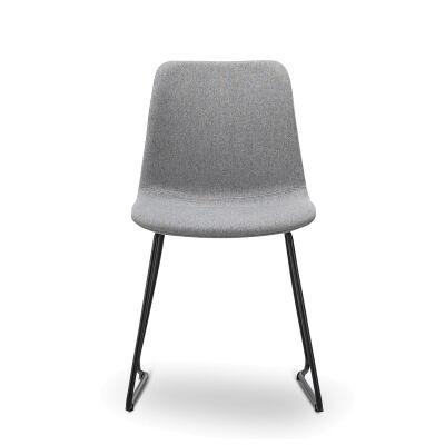 Sadel Fabric Dining Chair, Set of 2, Grey