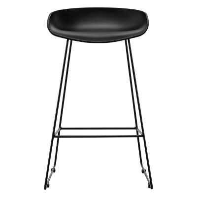 Replica Hay Sled Counter Stool, Set of 2, Black