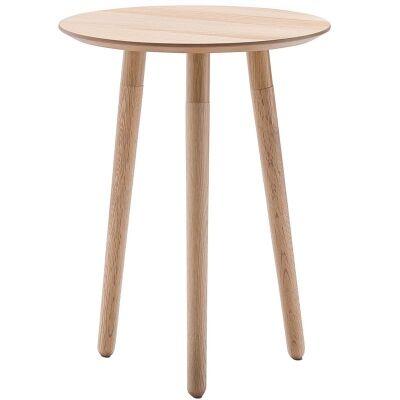 Nochio Retro Wooden Round Side Table