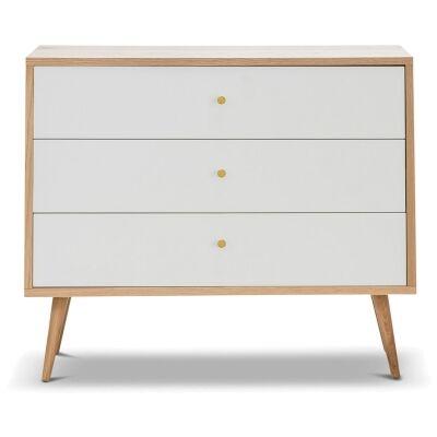 Liena Wooden 3 Drawer Chest