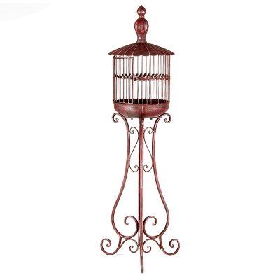 Federation Iron Birdcage Ornate Stand