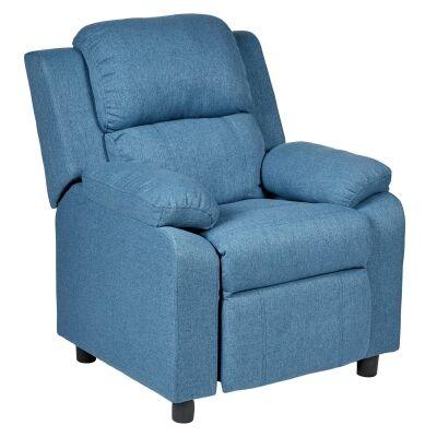 Erika Fabric Kids Recliner Armchair