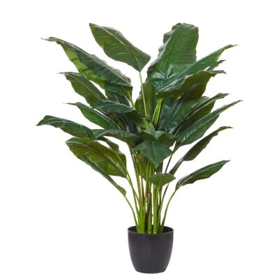 Potted Artificial Spathphyllum Plant, 110cm