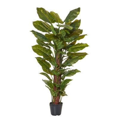 Potted Artificial Pothos Totem Plant, 122cm