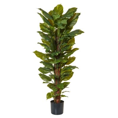Potted Artificial Pothos Totem Plant, 152cm