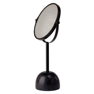 Aquanova Yana Magnifying Cosmetic Desktop Mirror, Black