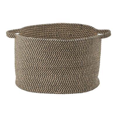 Aquanova Rena Cotton Storage Basket, Medium, Linen