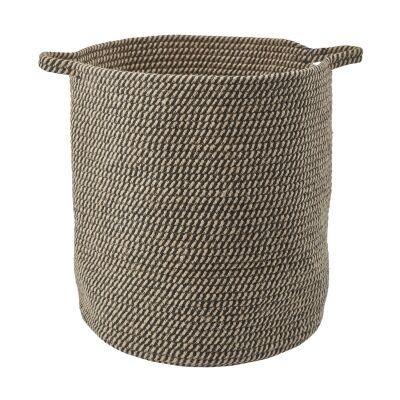 Aquanova Rena Cotton Storage Basket, Large, Linen