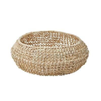 Aquanova Abaca Storage Basket, 38 Litre, Beige