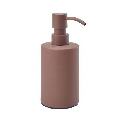 Aquanova Forte Ceramic Soap Dispenser, Small, Brique