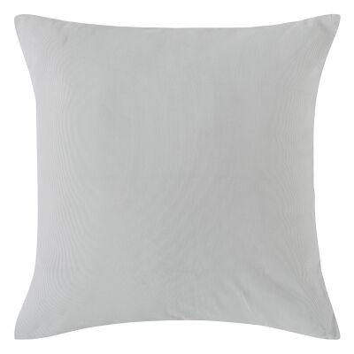 Vintage Design Homeware Cotton Corduroy European Pillowcase, Dove Grey