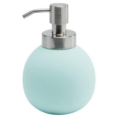 Aquanova Cleo Ceramic Soap Dispenser, Mint