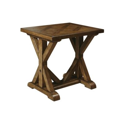 Weiterswiller Oak Timber Side Table
