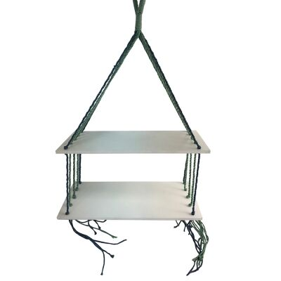 Oissy Hanging Shelf, White