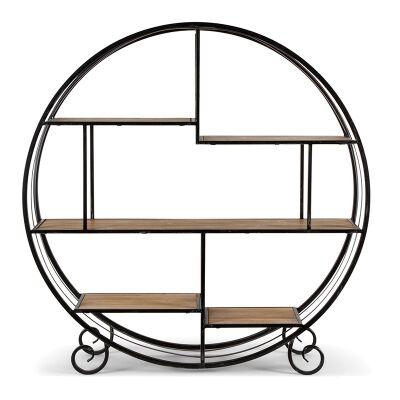 Rotta Metal & Wood Display Shelf