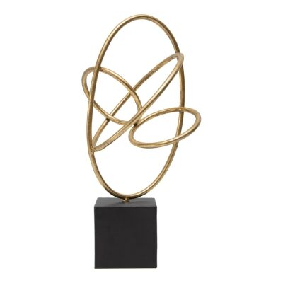 Bassano Metal Abstract Centrepiece Sculpture