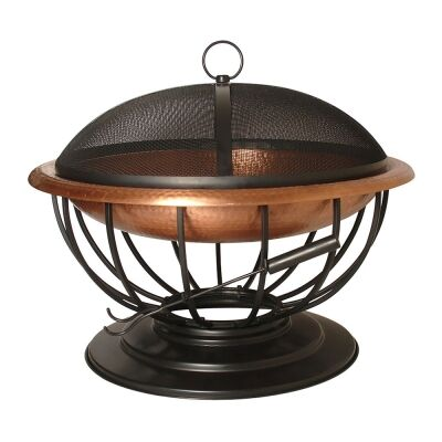 Ember Iron Round Outdoor Fire Pit