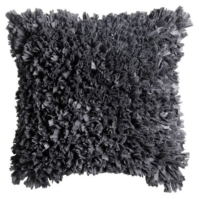 Elodie Petals Scatter Cushion, Anthracite