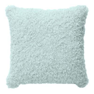 Lyla Faux Sheep Fur Scatter Cushion, Mint