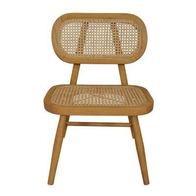 Seabrook Bayur Wood & Rattan Casual Chair