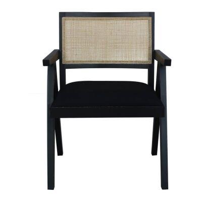 Sanderson  Bayur Wood & Rattan Armchair