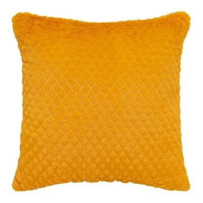 Azariah Plush Scatter Cushion, Mustard