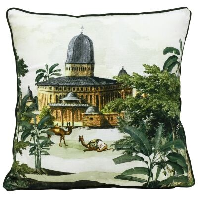 Regal Embroided Cotton Scatter Cushion
