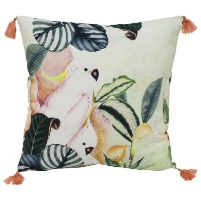 Hello Cocky Cotton Scatter Cushion