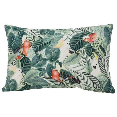 Cheeky Cocky Cotton Lumbar Cushion