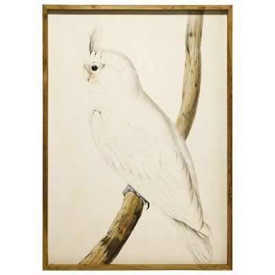"""Cockatoo Left"" Framed Canvas Wall Art, 157cm"
