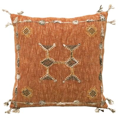 Mahi Embroidered Cotton Scatter Cushion
