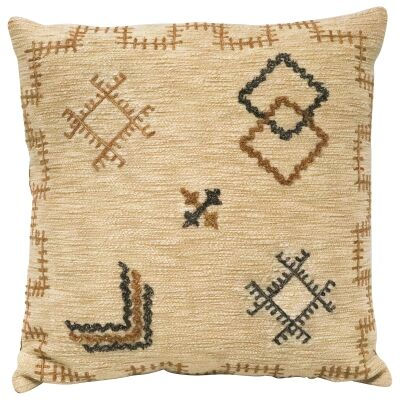 Milli Embroidered Cotton Scatter Cushion