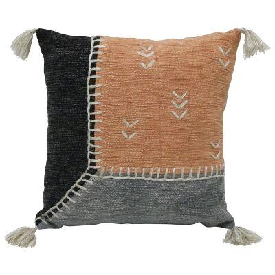 Khathi I Embroidered Cotton Scatter Cushion