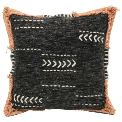 Khathi II Embroidered Cotton Scatter Cushion