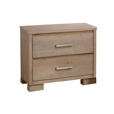 Quintus Mountain Ash Timber Bedside Table