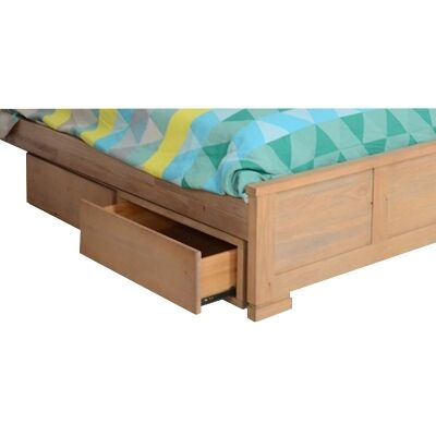 Quintus Mountain Ash Timber Underbed Storage