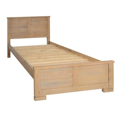 Quintus Mountain Ash Timber Bed, King Single