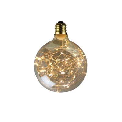 Allume G125 Dimmable LED Wire Filament Decor Globe, E27