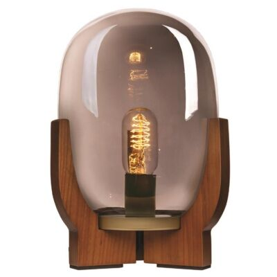 Forbes Table Lamp, Smoke